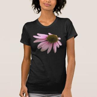 Flor cor-de-rosa do cone t-shirt
