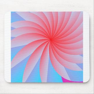 Flor cor-de-rosa Mousepad da paixão