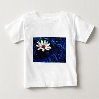 Flor da arte camiseta para bebê