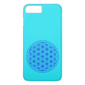 Flor da capa de telefone sagrado da geometria da