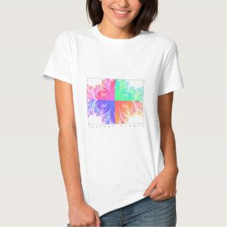 Flor da pena t-shirts