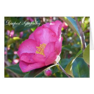 Flor da simpatia cartao