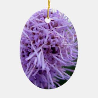 Flor da violeta da aranha do tentáculo ornamento de cerâmica