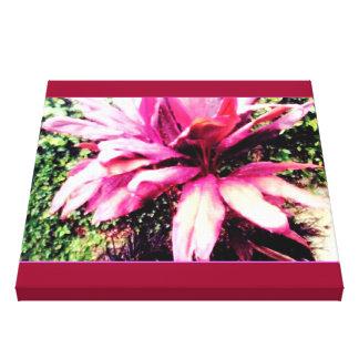 Flor de Bahamas Impressão Em Tela