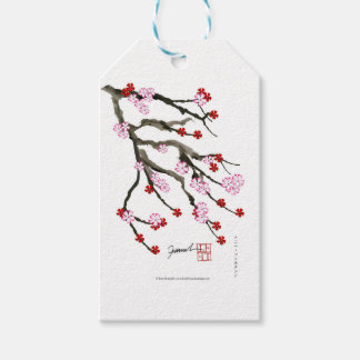 flor de cerejeira 10 Tony Fernandes Etiqueta Para Presente