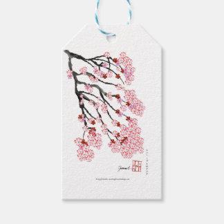Flor de cerejeira 18 Tony Fernandes Etiqueta Para Presente