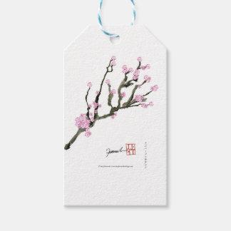 Flor de cerejeira 8 de Tony Fernandes Etiqueta Para Presente
