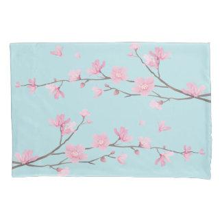 Flor de cerejeira - azul-céu