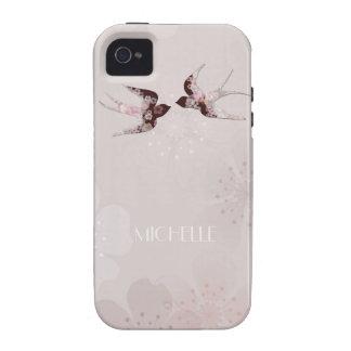 Flor de cerejeira e capas de iphone florais das capa para iPhone 4/4S