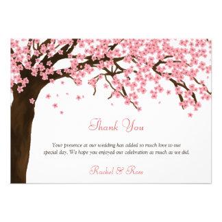 Flor de cerejeira obrigado aguarela de Sakura você