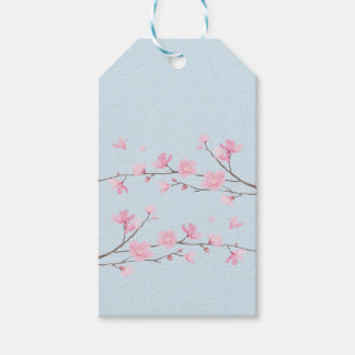 Flor de cerejeira - Transparente-Fundo Etiqueta Para Presente