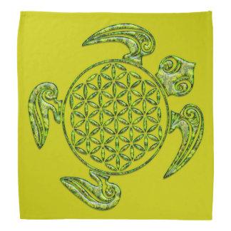 Flor de DES Lebens da vida/Blume - verde da Faixa De Cabeça