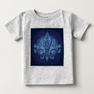 Flor-De-Lis, crista, flor T-shirt