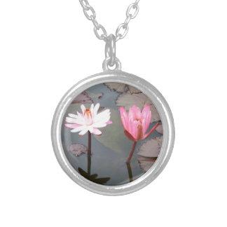 Flor de Lotus Colares Personalizados