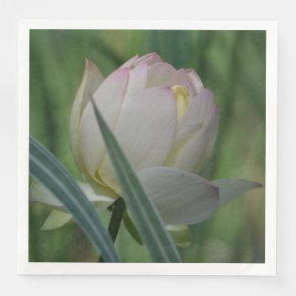 Flor de Lotus Guardanapo De Papel De Jantar