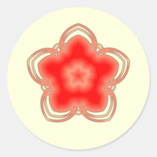 Armario Farmacia Antiguo ~ Flor de Lotus vermelha doópio Adesivo Zazzle