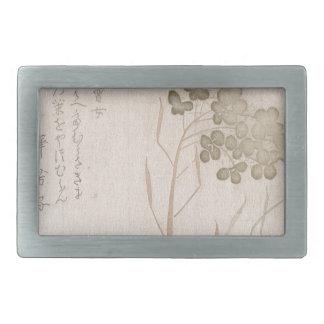 Flor de Natane - origem japonesa - período de Edo
