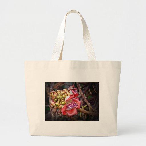 Flor de Sala da fruta da bala de canhão Bolsa Para Compras