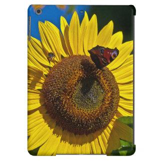 Flor de Sun com ar do iPad da borboleta, mal lá Capa Para iPad Air