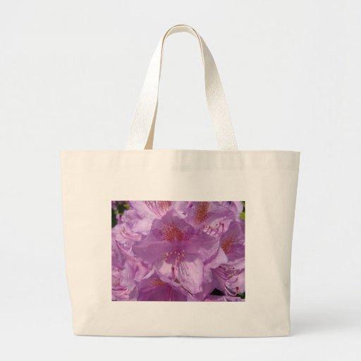 Flor de Violett Bolsas Para Compras