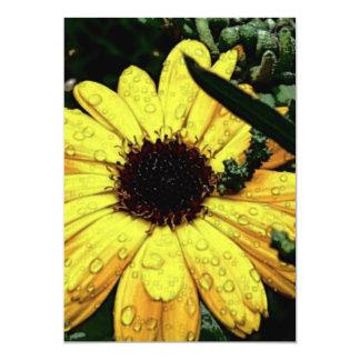 Flor do amor convite personalizado