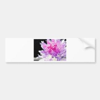 Flor do cebolinho no óleo adesivos