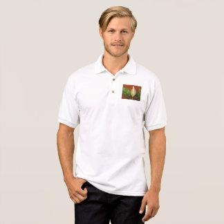 Flor do Evergreen chinês Camisa Polo