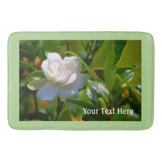 Flor do Gardenia Tapete De Banheiro