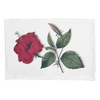 Flor do hibiscus do solteiro do vermelho de vinho