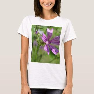 Flor do Mallow comum Camiseta