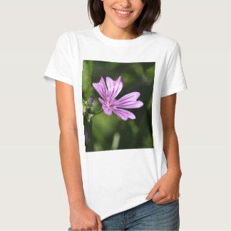Flor do Mallow comum Tshirt