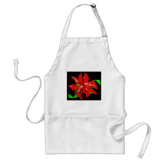 Flor do Natal customizável Avental