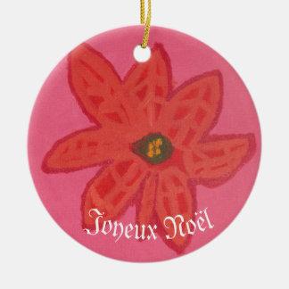 Flor do Natal - ornamento