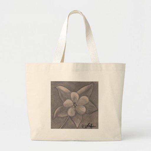 Flor do primeiro de Maio (desenho) Bolsa Para Compras