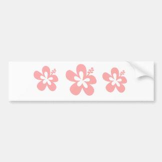 flor do rosa aloha adesivo