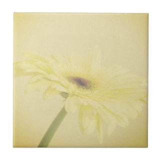 Flor do vintage azulejo quadrado pequeno