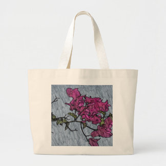 Flor dos desenhos animados bolsa