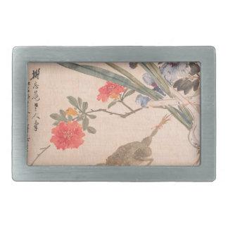 Flor e sapo - Zhang Xiong (chinês, 1803-1886)