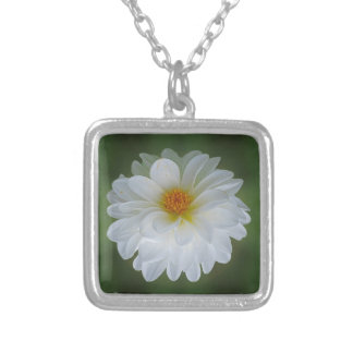 Flor e significado da dália colar personalizado