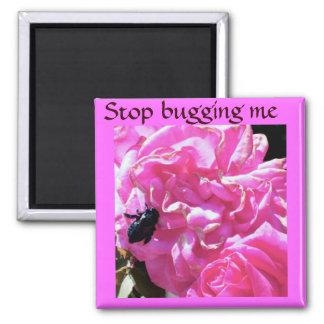 Flor e um Bug_ Imã