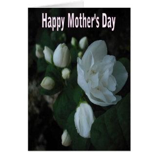 flor fabulosa - cartão do dia das mães