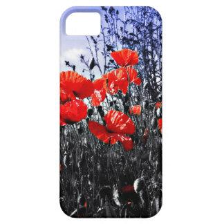 Flor floral da papoila das papoilas capa para iPhone 5