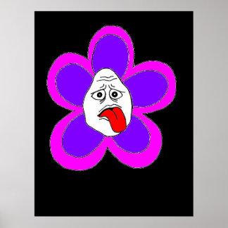 flor fresca - poster das belas artes