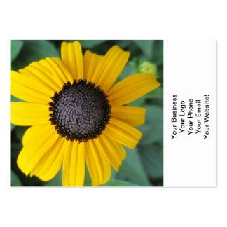 Flor Gloriosa do jardim da margarida Cartão De Visita Grande