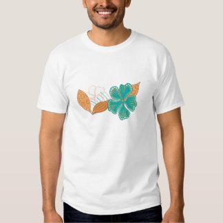 flor havaiana camiseta