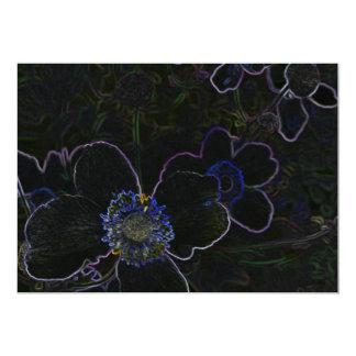 Flor mágica convites personalizados