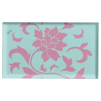Flor oriental - Limpet Shell Suportes Para Cartoes De Mesas