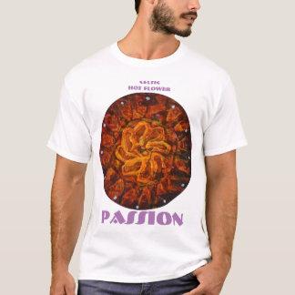 Flor quente celta - camisa abstrata da paixão