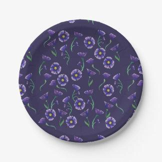 Flor roxa violeta