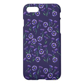 Flor roxa violeta capa iPhone 7